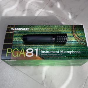 SHURE PGA81 マイク 画像