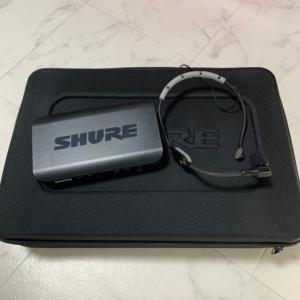 SHURE BLX14/PGA31 ワイヤレスマイク 画像