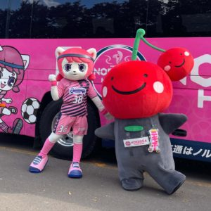 ノルディーア北海道のマスコット「ノルちゃん」がデビューしました!